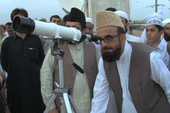 Chairman Markazi Ruet e Hilal Committee Mufti Muneeb-ur-Rehman.