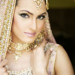 Pakistan fashion industry's top model NadiaHussain