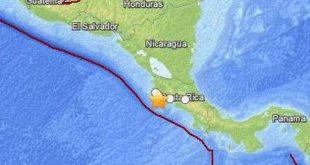 Strong 7.9 quake hits Costa Rica in North America