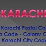 Karachi Postal Code   Area Code   Colony Code Karachi City Codes   postal Codes