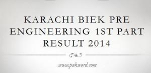 FSc Part 1 BIEK result oline