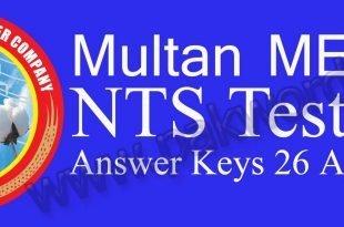 MEPCO 26 April answer key