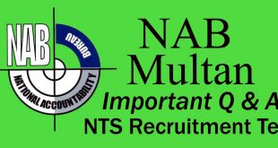 NAB syllabus NTS test online