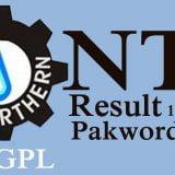 SNGPL result nts test