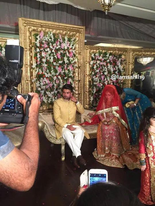 Ahmad Shahzad Wedding Pictures