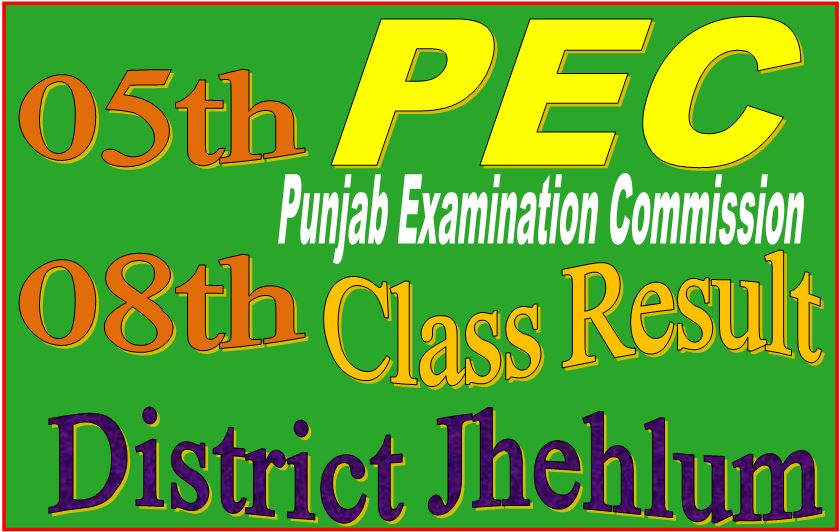 8 class result Jehlum