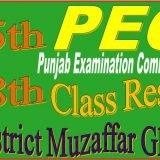 8 class result muzaffar ghar