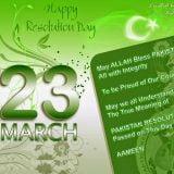 Pakistan day resolution