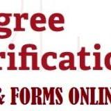 degree fee verification form