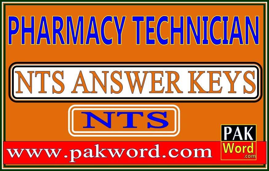 nts pharmacy technician answer keys