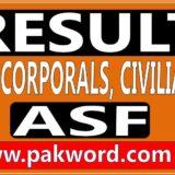 asf written test result
